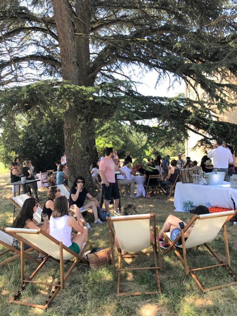 Event ACOM au Château de Tauziès