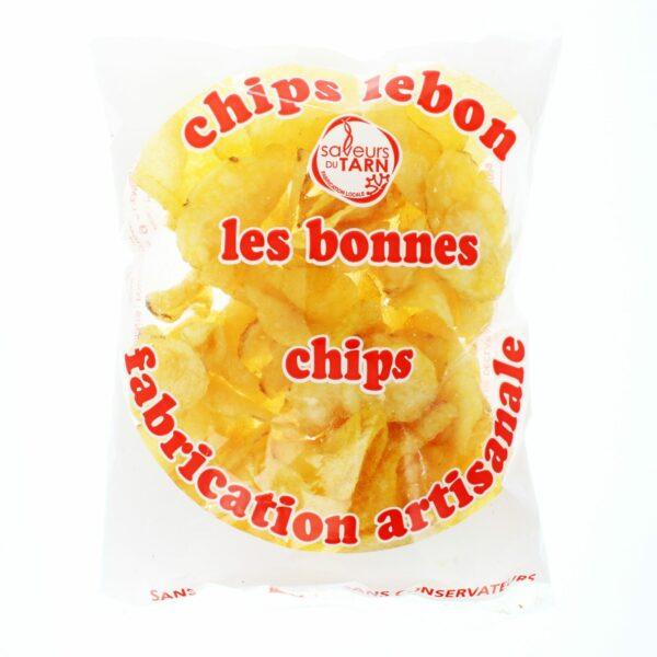 Chips de pomme de terre du tarn