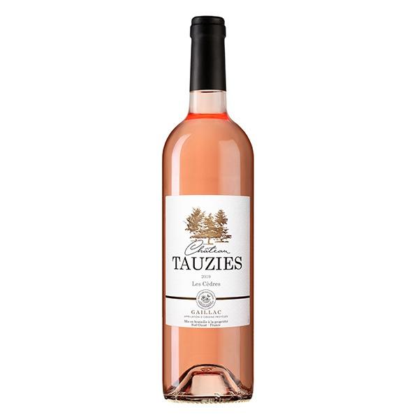 Vin rosé château de Tauziès